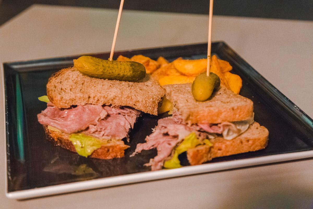 Gastropub sandwich Monteverde